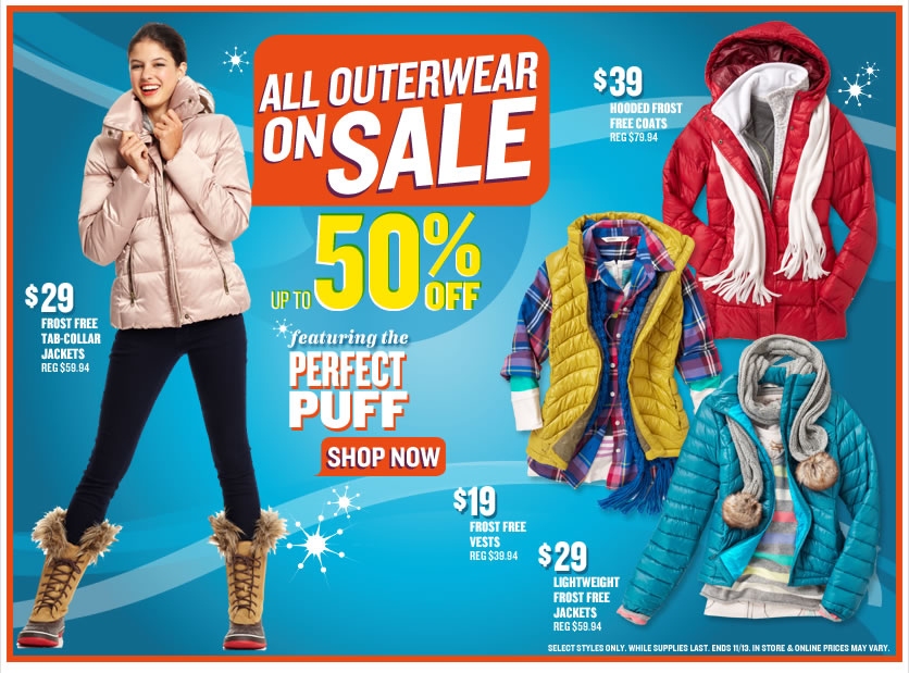 When it comes to annual sales, some retailers do them bigger than others. Like, way, way bigger. Case in point: Old Navy's Black Friday sale, which is so wonderfully huge that you just might want to save all of your holiday shopping for post-Thanksgiving. Offering savings up to half off .